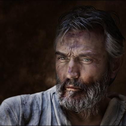 """""""En la soledad de la vida"""". Autor: Abraham Dominguez. Concurso de fotografia """"Mirando la Soledad"""" MatiaZaleak"""