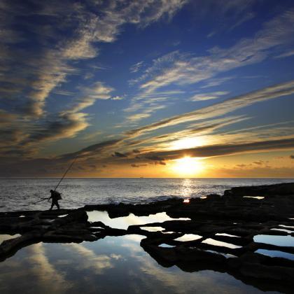 """""""El la soledad del mar"""". Autor: Abraham Dominguez. Concurso de fotografia """"Mirando la Soledad"""" MatiaZaleak"""