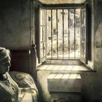 """""""La aldea solitaria"""". Autor: Juan Carlos Hernandez. Concurso de fotografia """"Mirando la Soledad"""" MatiaZaleak"""
